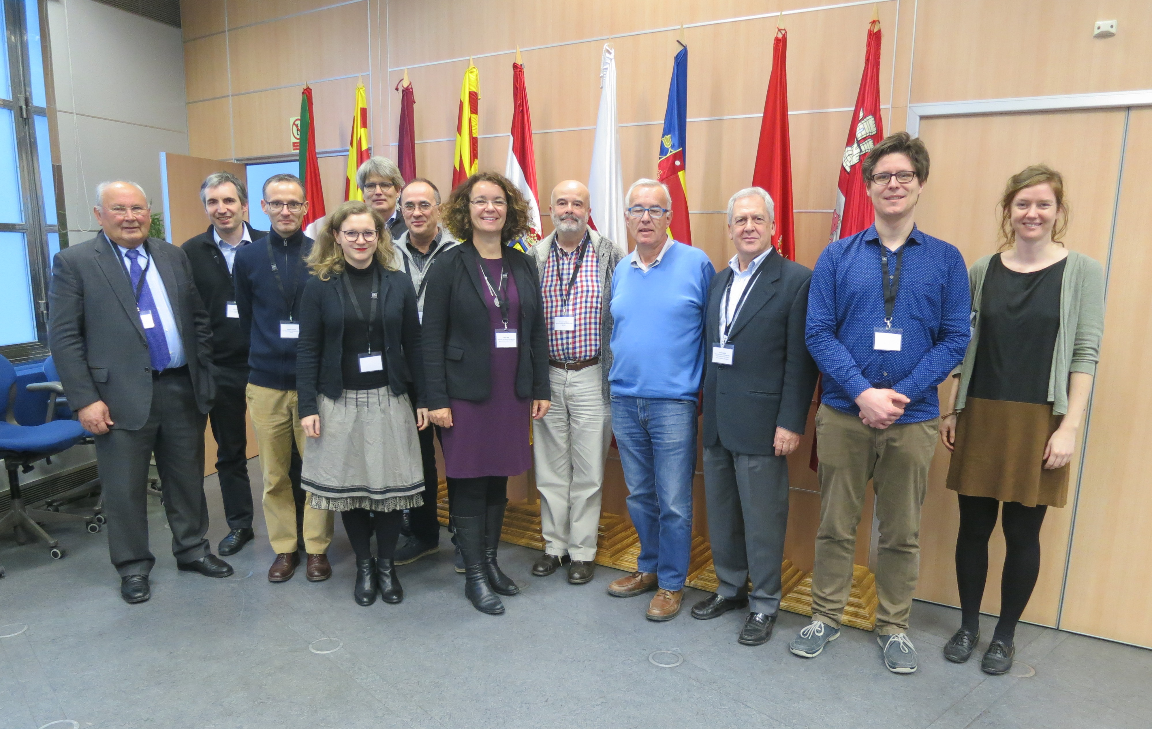 Group picture of the Ebro Focus Region I Workshop