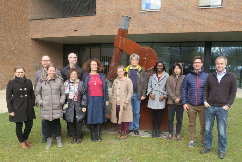 Group Picture of the CO-MICC consortium at the Mid-Term Meeting